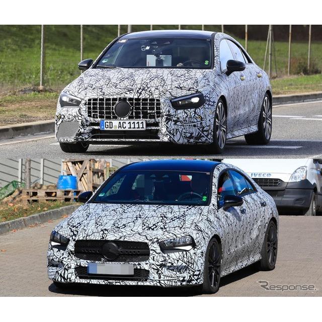 メルセデスベンツ『CLA』の高性能モデル『AMG CLA』にラインアップされる「AMG 35」、及び「AMG 45」を同時...