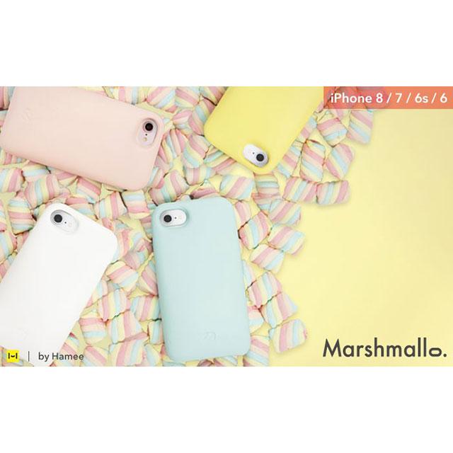 iPhone 8/7/6s/6専用 Marshmallo.(マシュマロ)ソフトケース