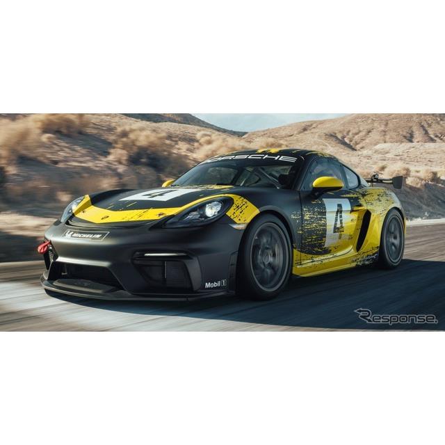 ポルシェは3日、『718ケイマンGT4クラブスポーツ』(Porsche 718 Cayman GT4 Clubsport)を発表した。  ...