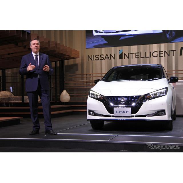 日産自動車は電気自動車『リーフ』に航続距離を40%向上させた『リーフe+』を追加設定し、1月23日から販売...