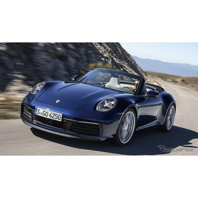 ポルシェは1月9日、新型『911カブリオレ』(Porsche 911 Cabriolet)を発表した。8世代目モデルの新型ポル...