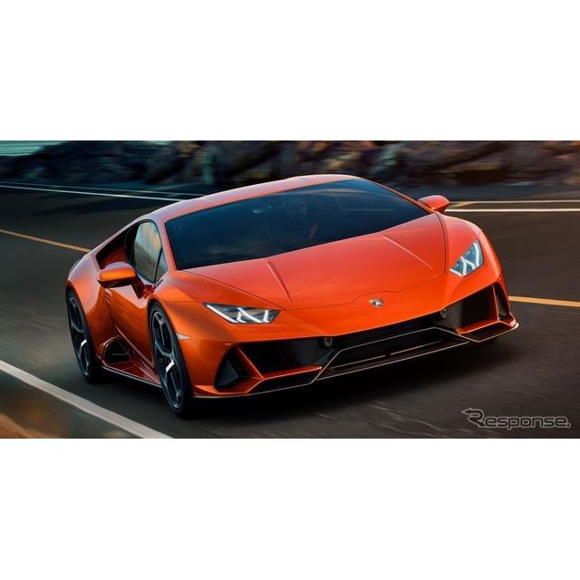 ランボルギーニは1月7日、『ウラカンエボ』 (Lamborghini Huracan EVO)を発表した。同車は、ランボルギー...
