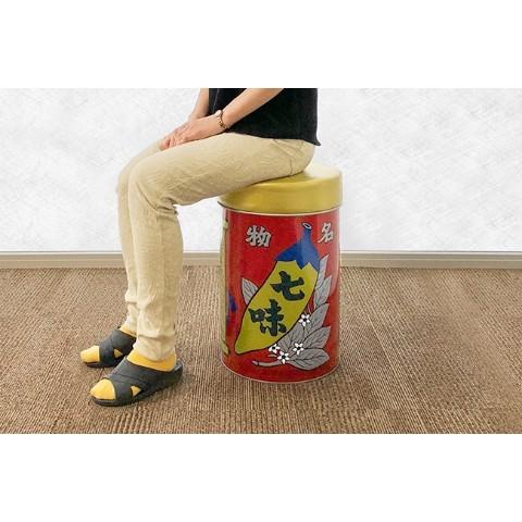 「八幡屋礒五郎/椅子缶」