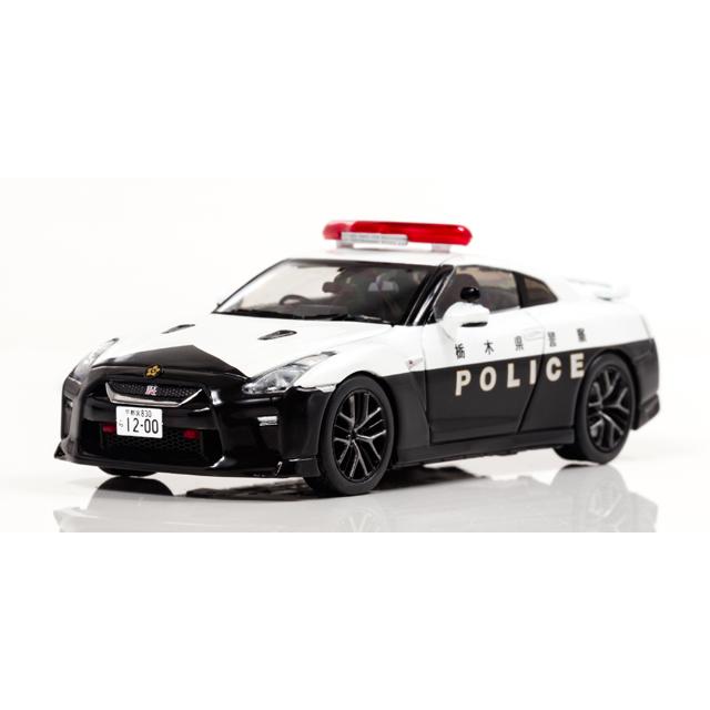 日産 GT-R(R35)2018 栃木県警察高速道路交通警察隊車両