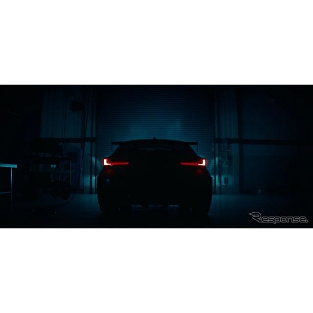 レクサスは1月9日、米国で1月14日に開幕するデトロイトモーターショー2019での『RC Fトラックエディション...