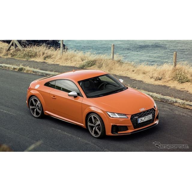 アウディは1月9日、『TTSクーペ』(Audi TTS Coupe)と『TTSロードスター』(Audi TTS Roadster)の改良新...