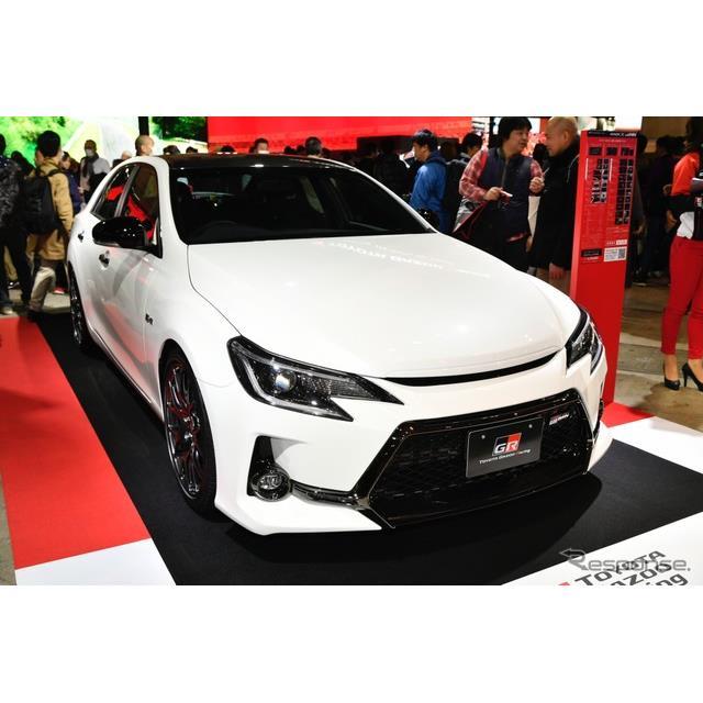 """トヨタ自動車は、FRスポーツセダン『マークX""""GRMN""""』を3月11日より全国のGRガレージを通じて発売し、注文..."""