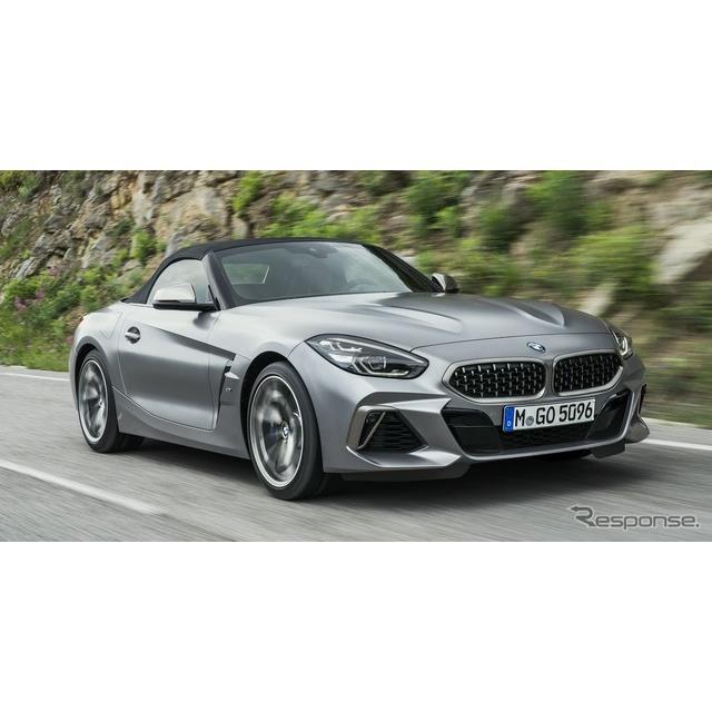 BMWは1月14日、新型『Z4ロードスター』(BMW Z4 Roadster)の高性能グレード、「M40i」のスペックを発表し...