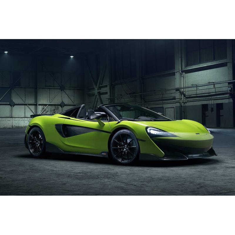 マクラーレン・オートモーティブは2019年1月17日、オープンスポーツカー「600LTスパイダー」の詳細を発表し...