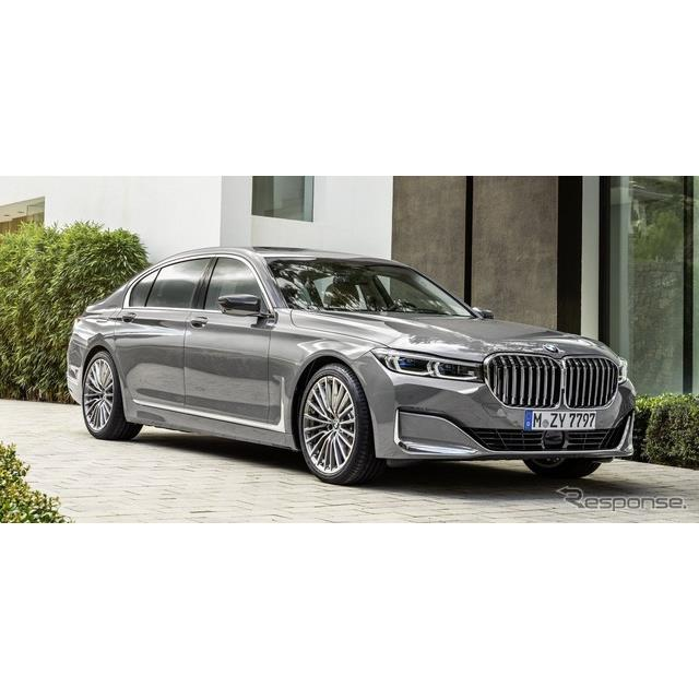 BMWは1月16日、改良新型『7シリーズ』(BMW 7 series)を本国で発表した。現行7シリーズがデビューからおよ...