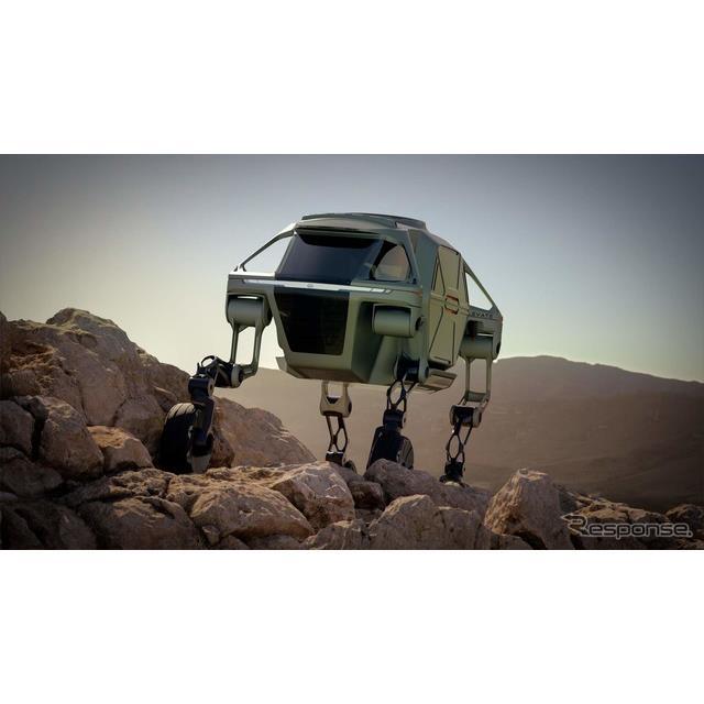 ヒュンダイの自動運転のEVコンセプトカー、エレベイト