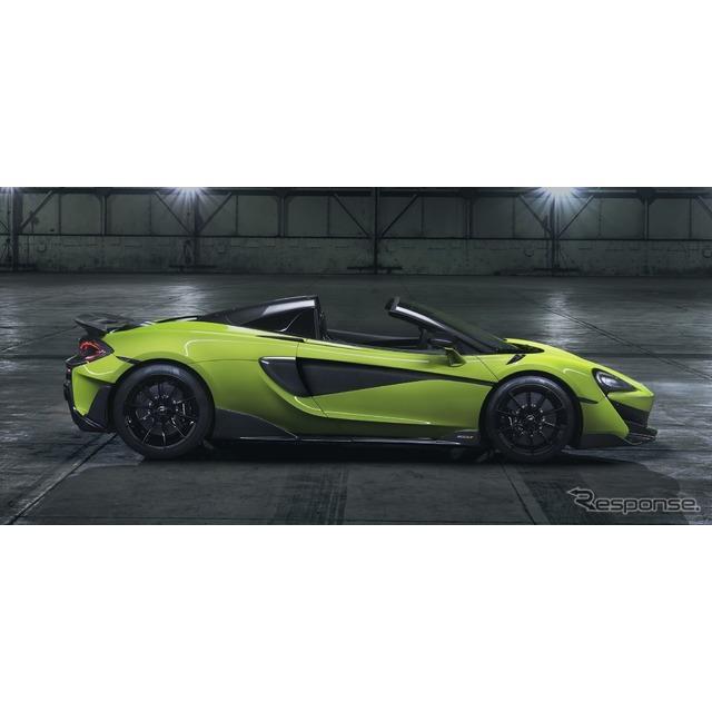 マクラーレンオートモーティブは1月16日、マクラーレン『600LTスパイダー』(McLaren 600LT Spider)を発表...