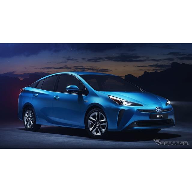 トヨタ自動車の欧州部門は1月18日、『プリウス』(Toyota Prius)の2019年モデルを欧州で発表した。  現...