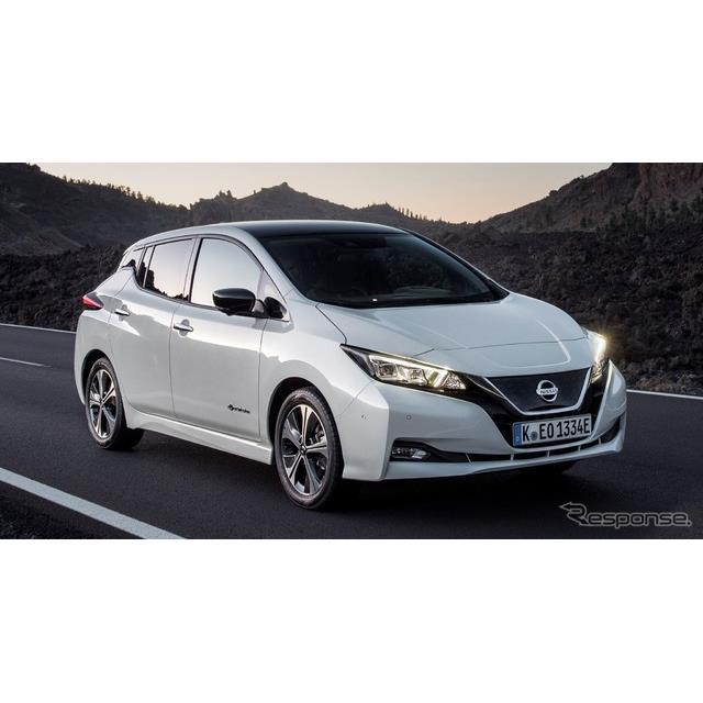 日産自動車の欧州部門、日産モーターヨーロッパは1月21日、『リーフ』(Nissan Leaf)の2018年の欧州販売実...