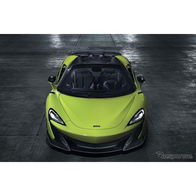 マクラーレンオートモーティブは、マクラーレン『600LTスパイダー』(McLaren 600LT Spider)の日本での受...