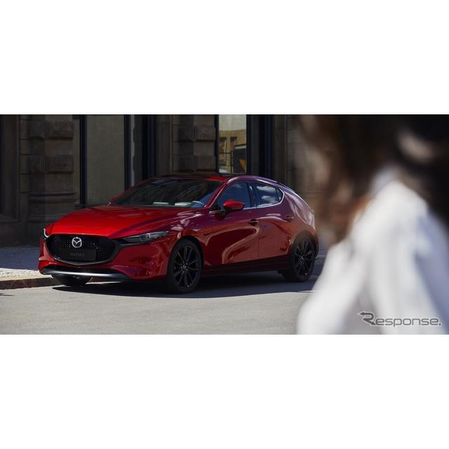 マツダの米国部門は1月23日、新型『マツダ3』(Mazda3)の米国ベース価格を、2万1000ドル(約230万円)と発...