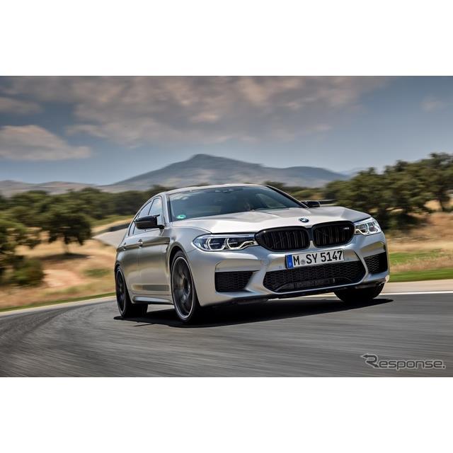 ビー・エム・ダブリュー(BMWジャパン)は、高性能セダン『M5』をベースに、よりサーキット走行性能を高め...