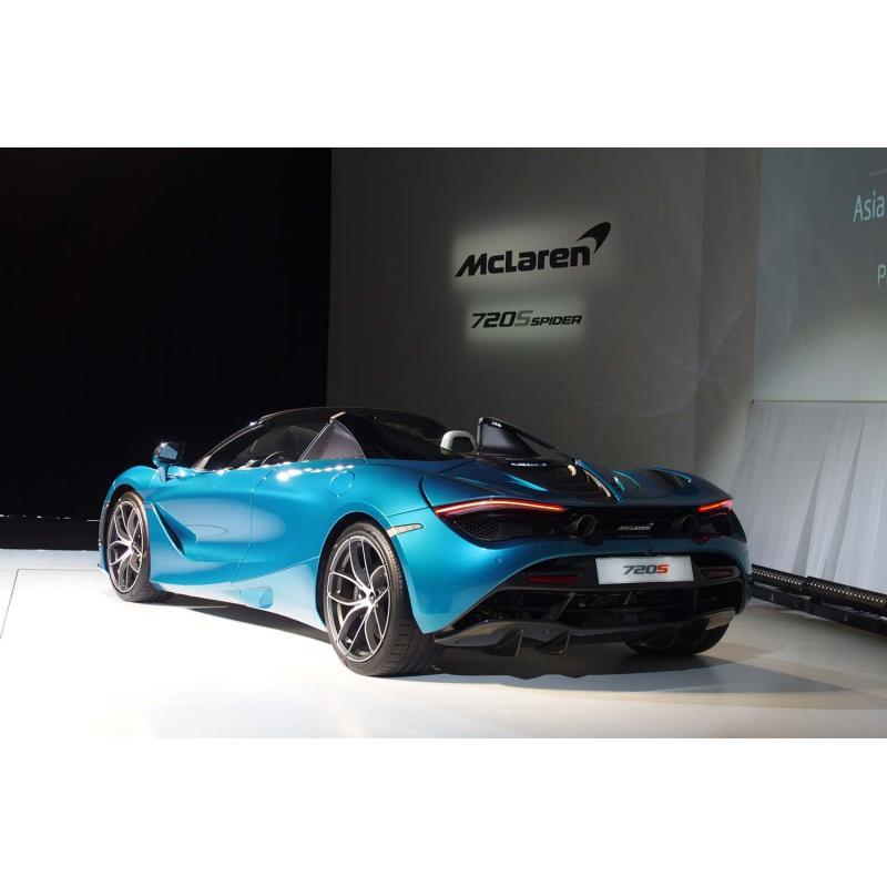 英マクラーレン・オートモーティブは2019年1月28日、マクラーレン・スーパーシリーズの新型オープンモデル...