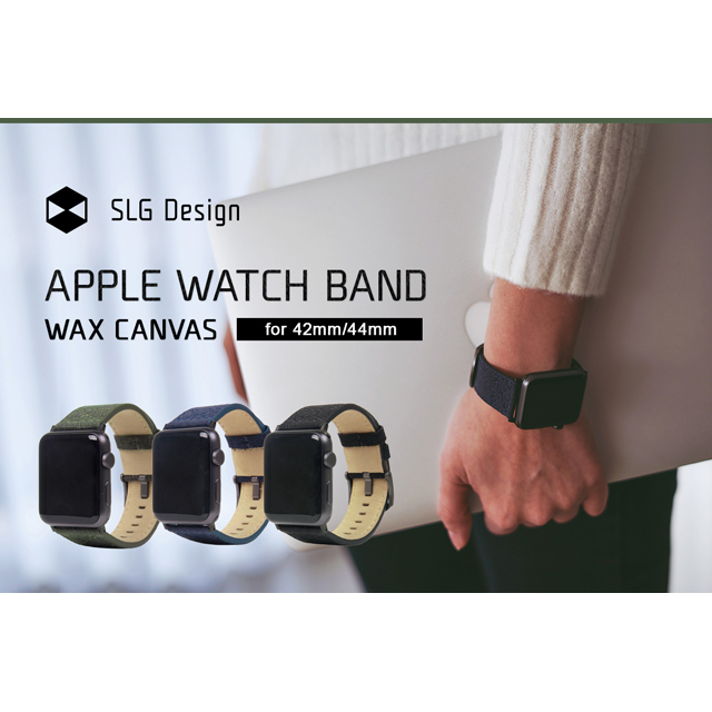 pple Watch バンド 42mm/44mm用 Wax Canvas」を発売した。