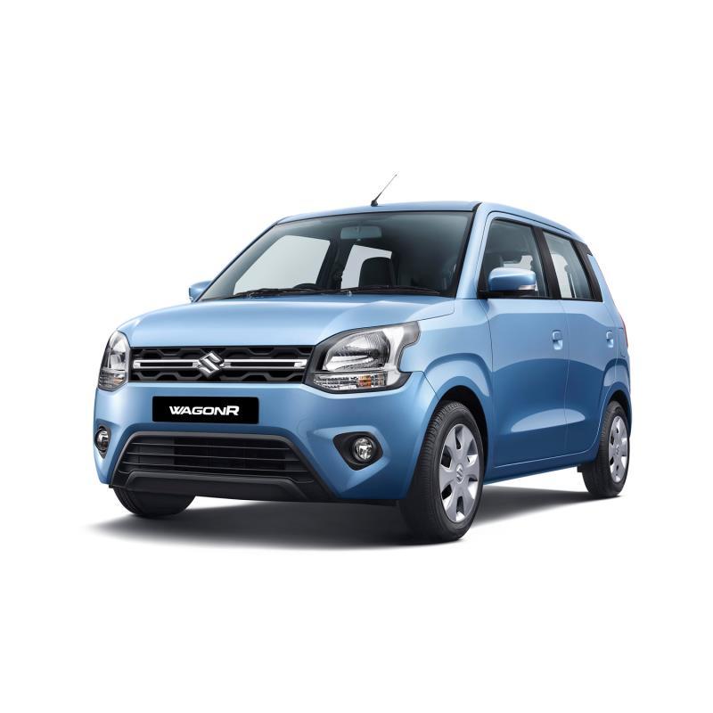 マルチ・スズキがインドで発売した新型「ワゴンR」。