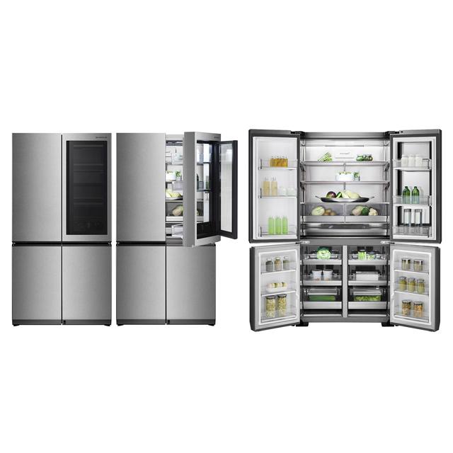 「LG SIGNATURE InstaView Door-in-Door冷蔵庫 GR-Q23FGNGL」