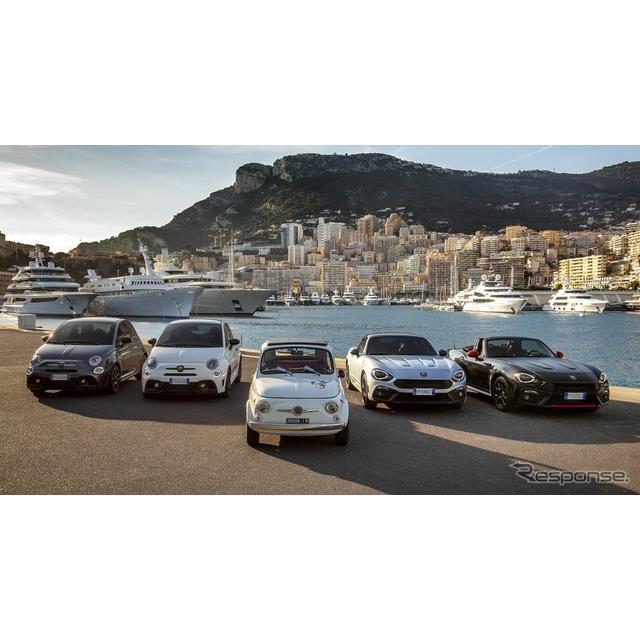 フィアットの高性能車部門、アバルト(Abarth)は1月29日、アバルト『595』、『124スパイダー』、『124GT』...