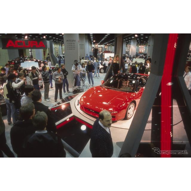 ホンダの海外向け高級車ブランド、アキュラは2月6日、米国で2月7日(日本時間2月8日未明)に開幕するシカゴ...