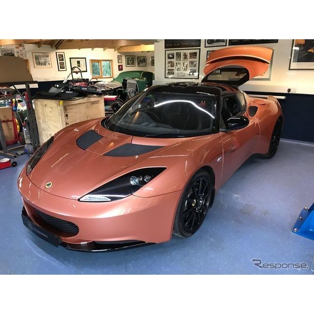 ロータスカーズが、『エヴォーラ』をベースにワンオフで製作した電動コンセプトカーの『エヴォーラ414Eハイ...
