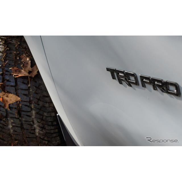 トヨタTRDプロ の2020年型のティザーイメージ