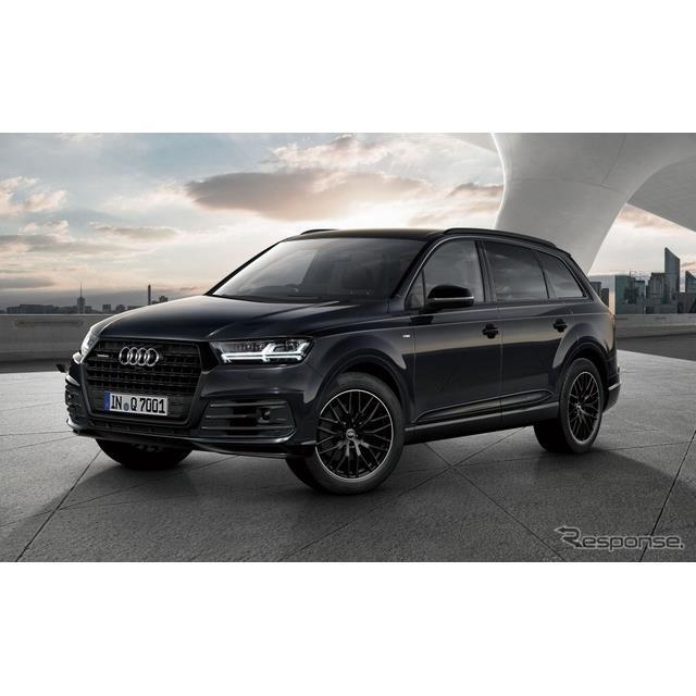 アウディ ジャパンは、SUVのトップモデル『Q7』に黒基調のオプションを特別装備した限定モデル「Q7ブラック...