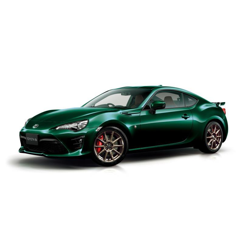 """トヨタ自動車は2019年2月12日、スポーツカー「86」に特別仕様車「GT""""British Green Limited""""(ブリティッ..."""