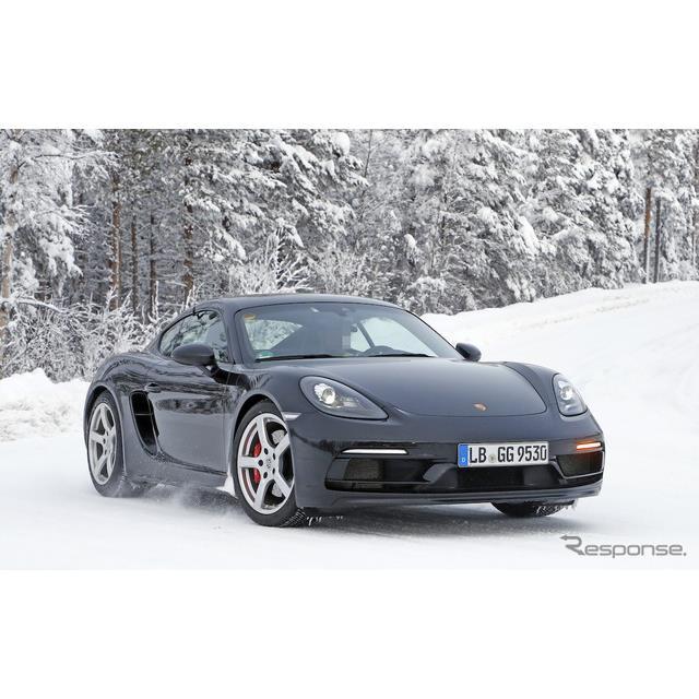 ポルシェのエントリークーペ、『718ケイマン』に設定される高性能モデル、『718ケイマン GT4ツーリングパッ...