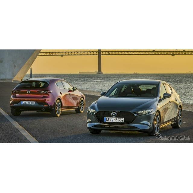 マツダの欧州部門、マツダモーターヨーロッパは2月18日、新型『マツダ3』(Mazda3)の欧州仕様車を発表した...