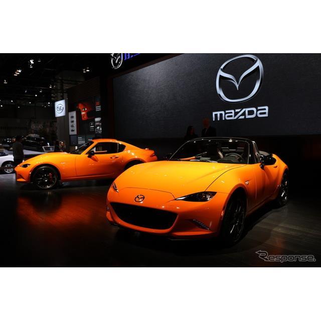 マツダ MX-5(ロードスター) 30周年記念車(シカゴモーターショー2019)
