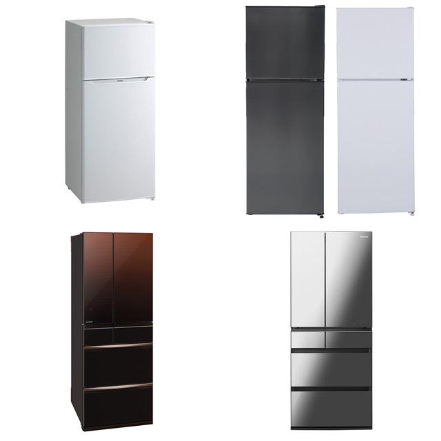 【新生活2019】冷蔵庫 最新モデルまとめ・・・ひとり暮らし向けは2万円台から