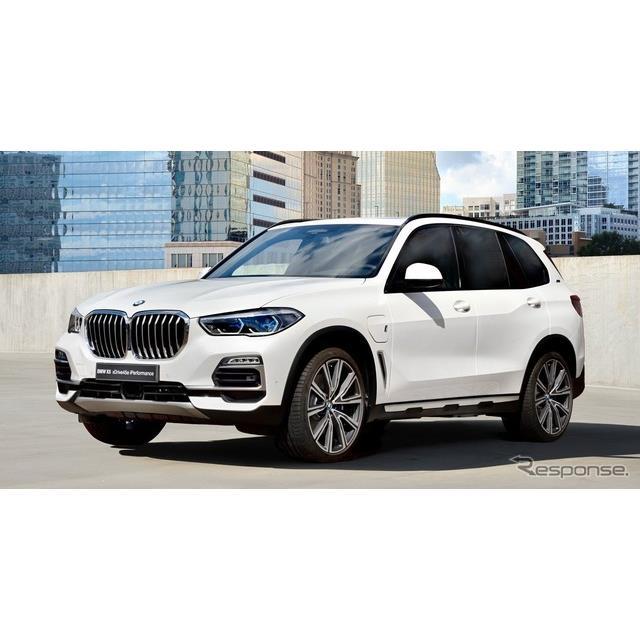 BMWは2月19日、スイスで3月に開催されるジュネーブモーターショー2019において、新型『X5』(BMW X5)のプ...