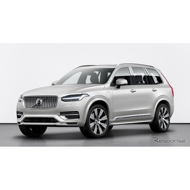 ボルボカーズは2月22日、最上級SUVのボルボ『XC90』(Volvo XC90)の改良新型を欧州で発表した。  現行XC...