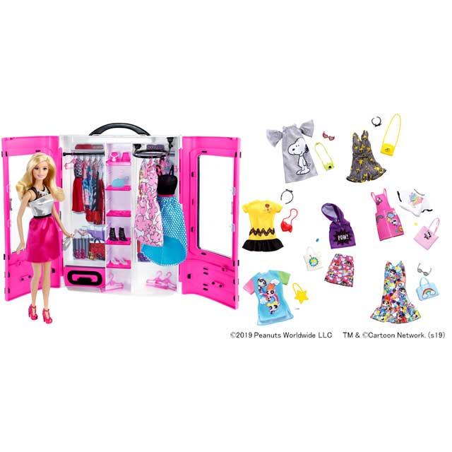 「バービーとピンクなクローゼット」/「バービーライセンス ファッションアソート」