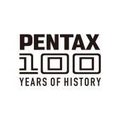 「PENTAX 100YEARS OF HISTORY」ロゴ