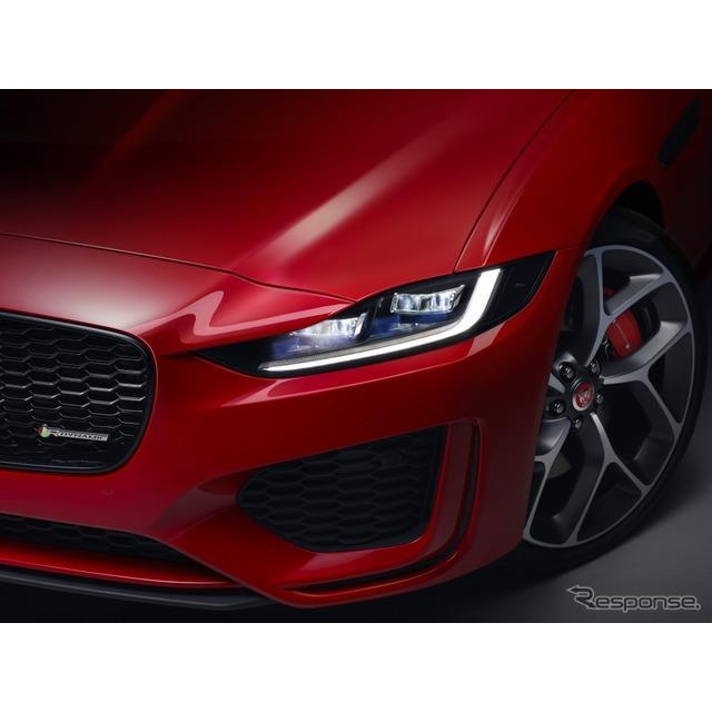 ジャガーカーズは2月27日、改良新型ジャガー『XE』(Jaguar XE)を欧州で発表した。  ジャガーXEは2014年...