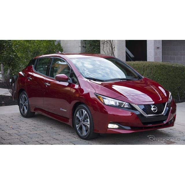 日産自動車は3月5日、EVの『リーフ』(Nissan Leaf)の世界累計新車販売台数が40万台を達成した、と発表し...