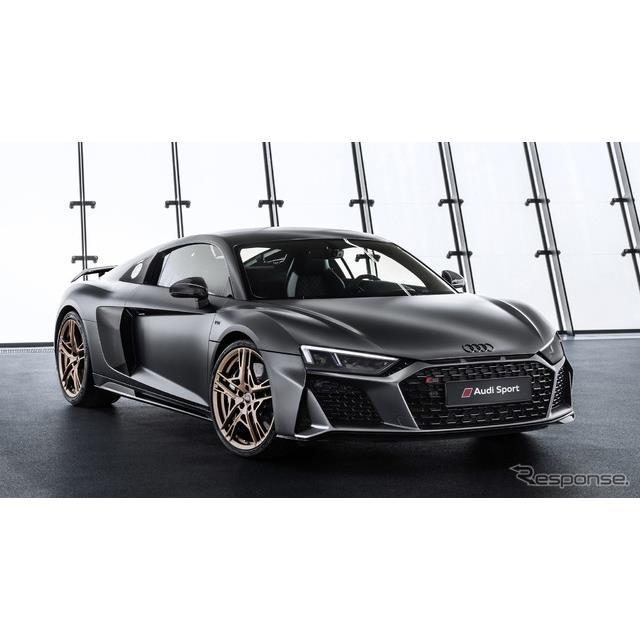 アウディは、『R8』にV型10気筒エンジンの誕生10周年を記念する「R8 V10ディセニアム」(Audi R8 V10 Decen...