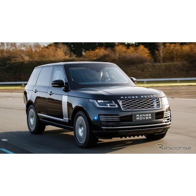 ランドローバーは3月4日、『レンジローバー』の防弾装甲仕様車、「センチネル」(Range Rover Sentinel)を...