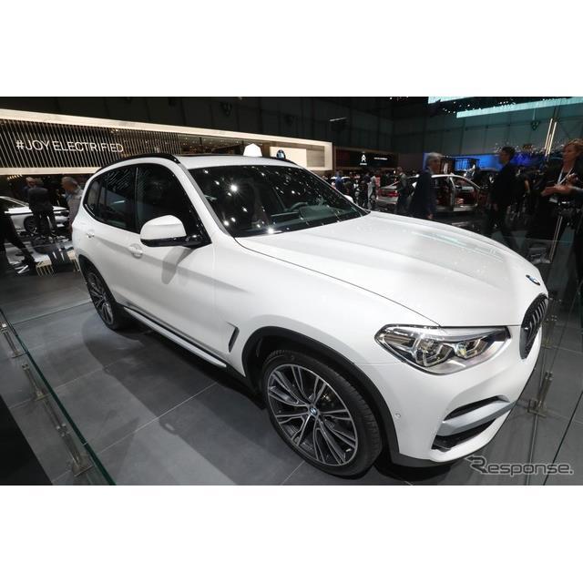 BMWは3月5日、スイスで開幕したジュネーブモーターショー2019において、新型『X3』のプラグインハイブリッ...