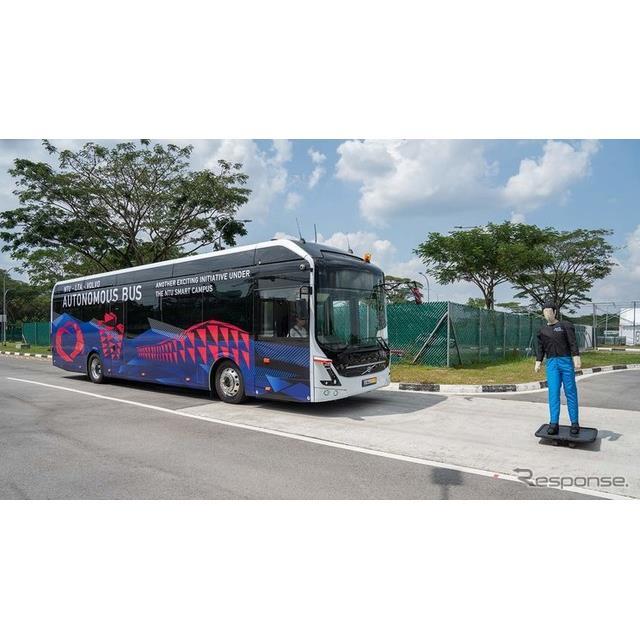 ボルボのフルサイズの自動運転EVバス