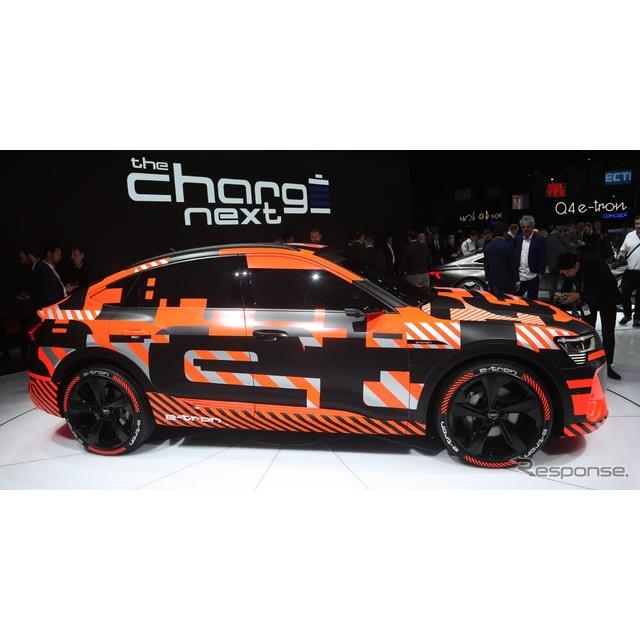 アウディ e-tron スポーツバックのプロトタイプ(ジュネーブモーターショー2019)