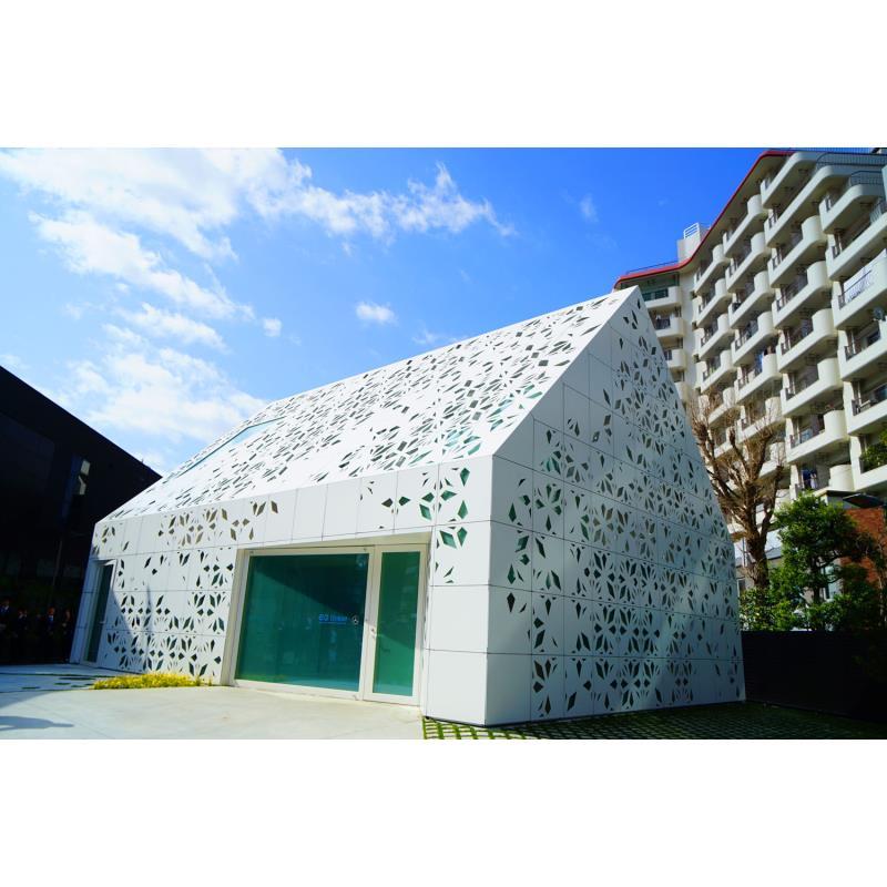 東京・六本木に期間限定でオープンする「EQハウス」。