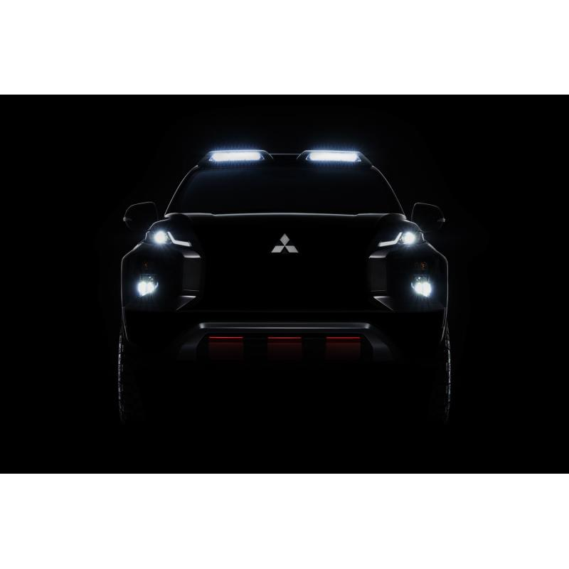 バンコク国際モーターショーでお披露目される「三菱トライトン」のスペシャルモデル。
