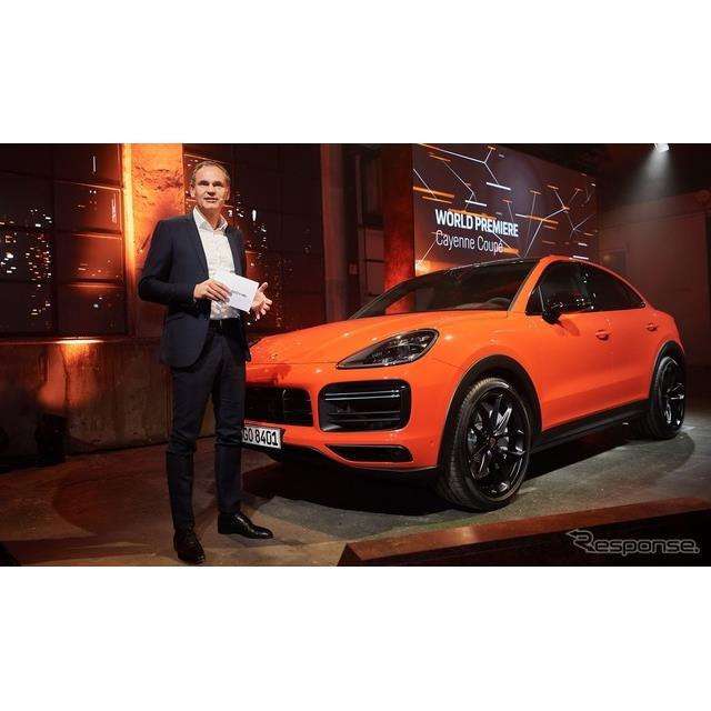 ポルシェは3月21日、『カイエン クーペ』(Porsche Cayenne Coupe)を欧州で発表した。  カイエン クーペ...