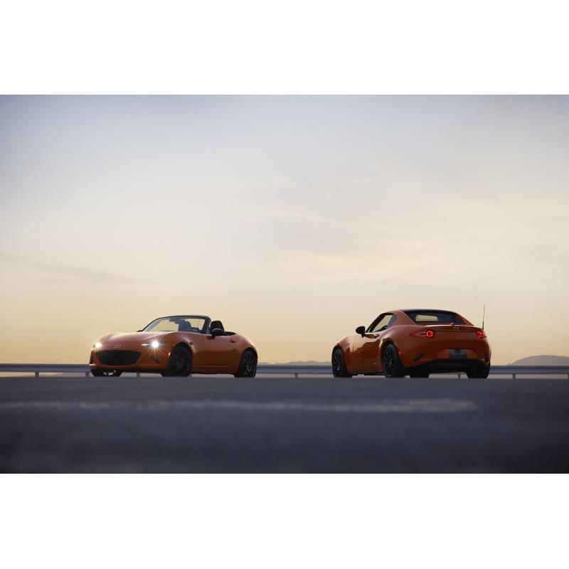 マツダは2019年3月25日、「ロードスター」の特別仕様車「30周年記念車」の商談予約受け付けを、同年4月5日...